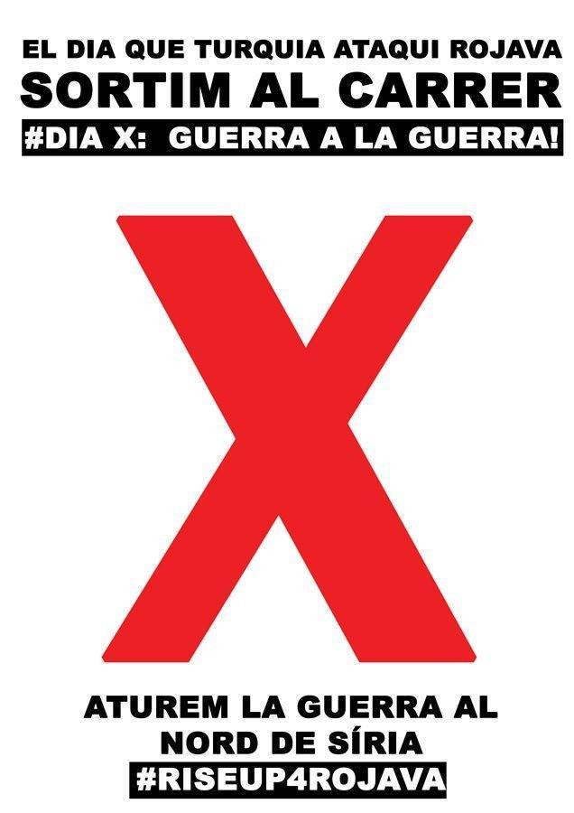 Dia X – #RiseUp4Rojava